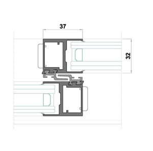 D Central cruce minimalista