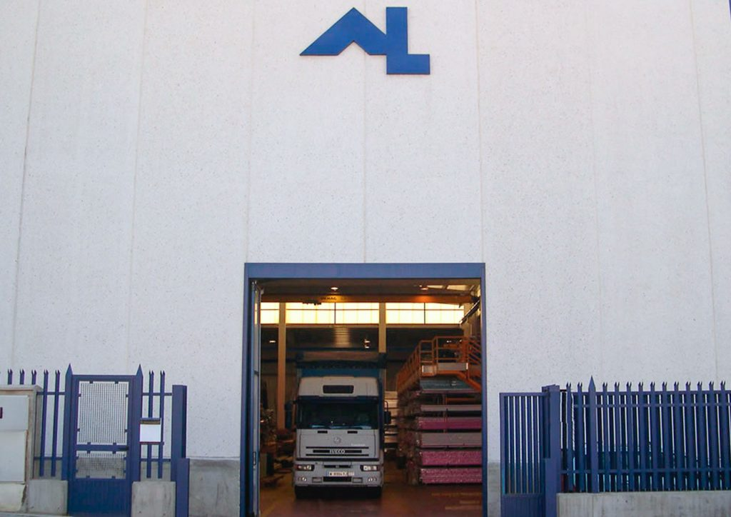 Alugom Madrid entrada almacén