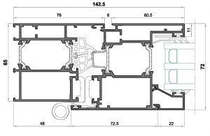 Alg 65-Seccion lateral balconera
