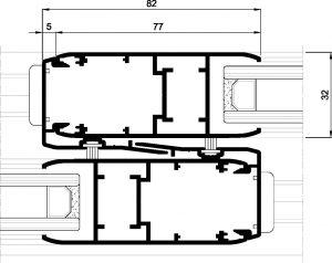 Silver 76-Seccion cruce central recto