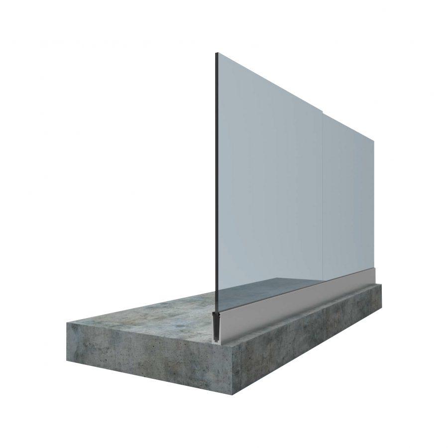 Serie barandilla de aluminio y vidrio grupo alugom - Barandilla de aluminio ...