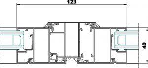 S100-Seccion central ventana
