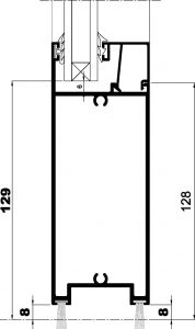 ST Puerta-Seccion inferior apertura interna