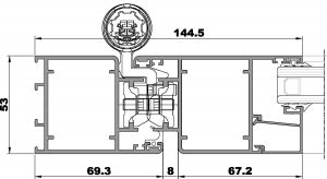 ST Puerta-Seccion lateral apertura externa