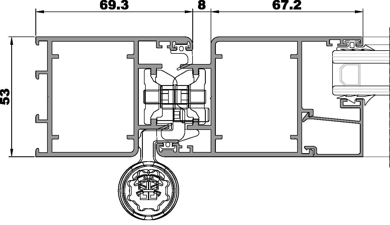 ST Puerta-Seccion lateral apertura interna