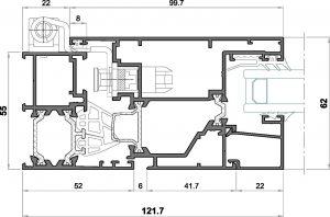 alg 55 C16-seccion lateral apertura externa