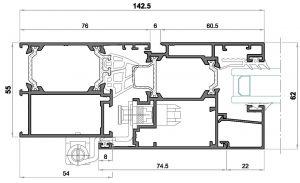 alg 55 C16-seccion lateral balconera