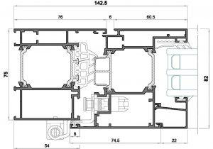 alg 75 C16-Seccion lateral balconera