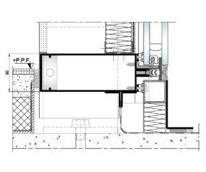 AL50 Intercalario-Seccion vertical inferior suelo