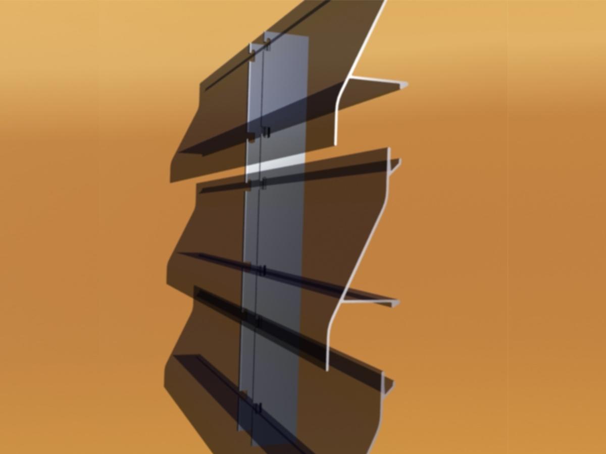 Lama recta 125 [3D]