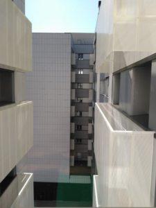 Edificio de viviendas en Pamplona Revestimiento de fachada